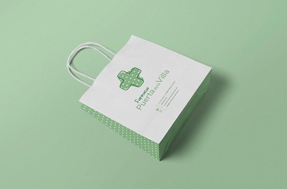 Bolsa papel bonita