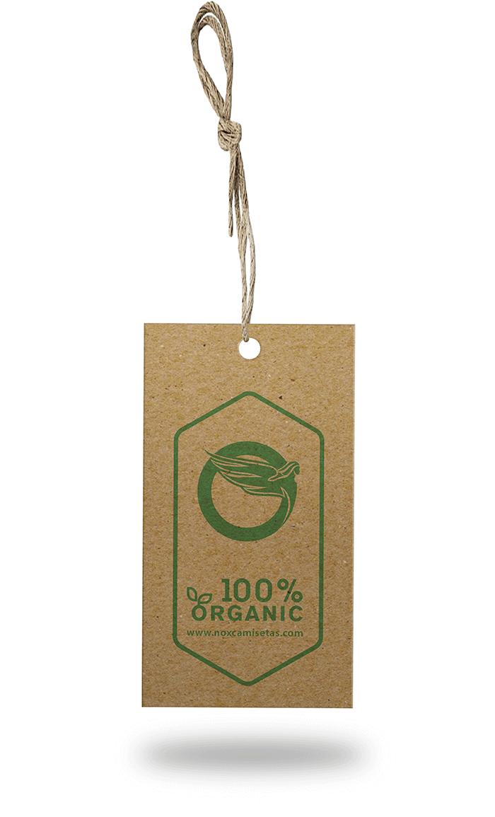 etiqueta organic